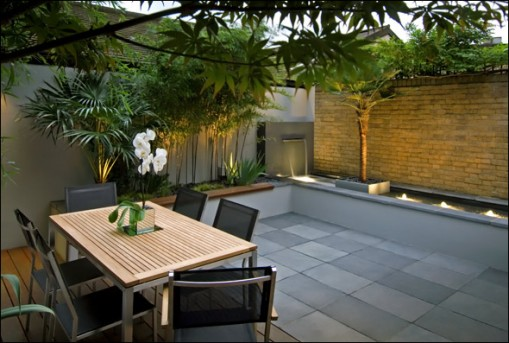 Small backyard ideas calibre for Contemporary garden design ideas for small gardens