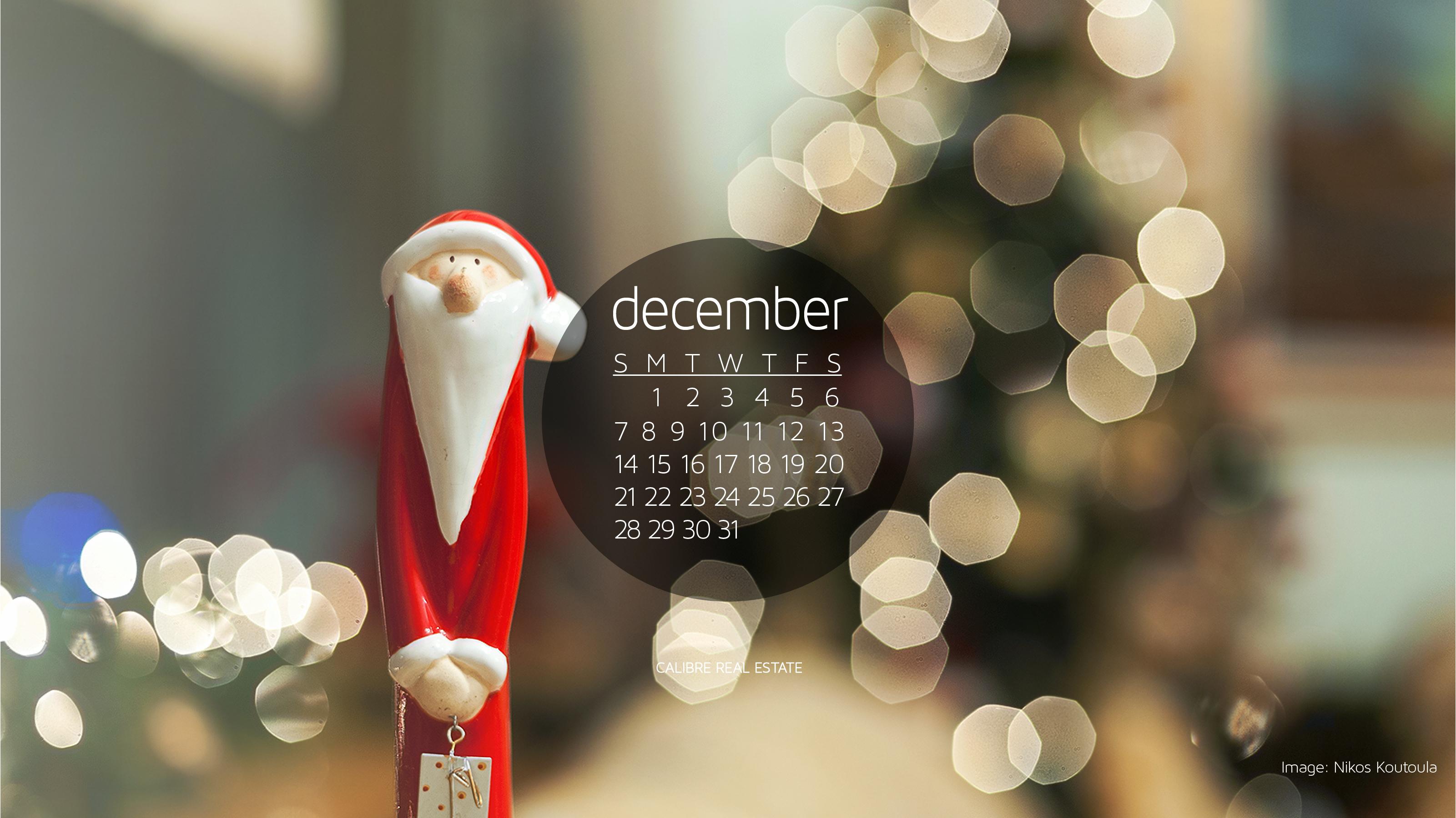 Calendar Wallpaper Creator : December calendar wallpaper