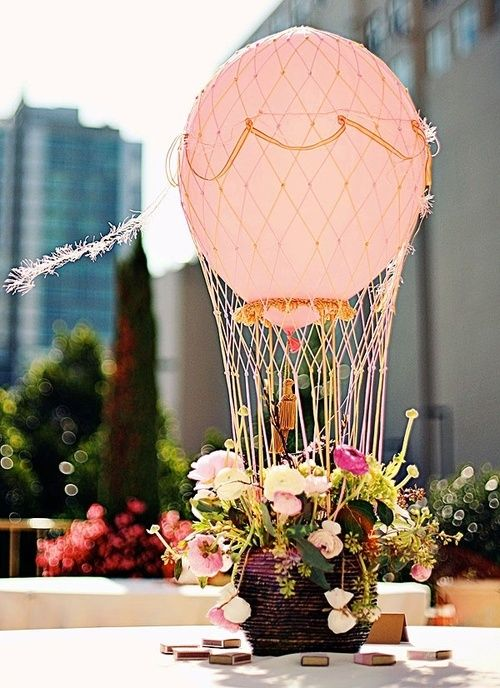 Hot air ballon Centrepiece