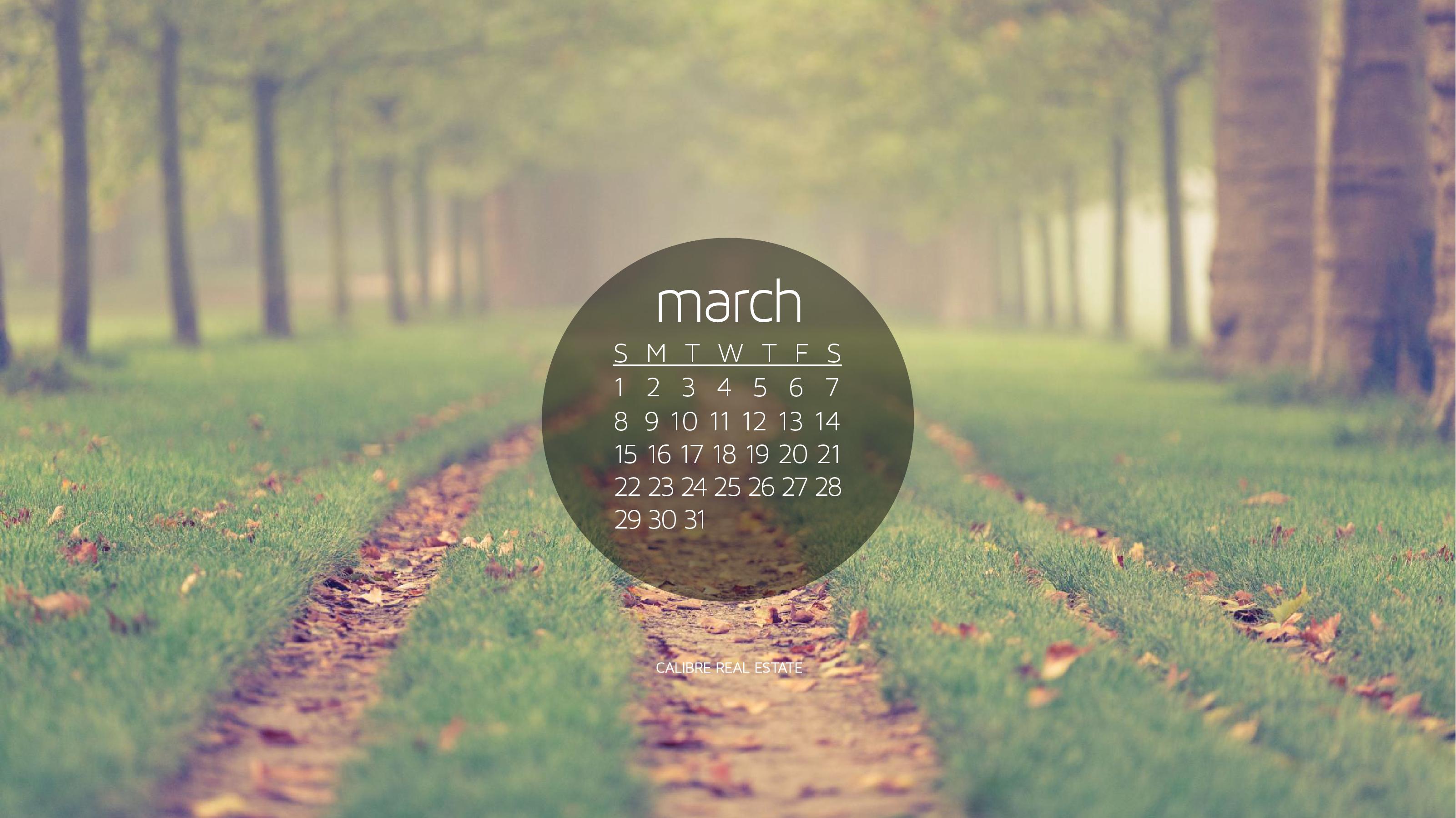 March Calendar Wallpaper Hd : March calendar wallpaper calibre