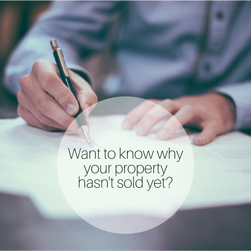 why your property hasn't sold