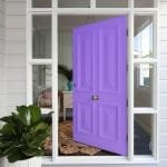 colour of your front door